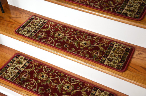 Dean Classic Keshan Carpet Stair Treads Set Of 15