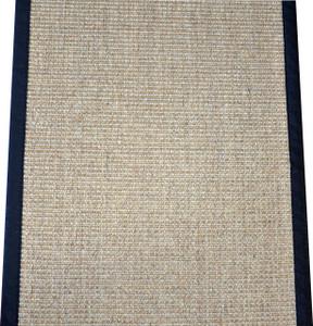 """Dean Desert/Black Natural Sisal Hall/Entrance/Landing Slip Resistant Carpet Runner Rug 29""""x8'"""