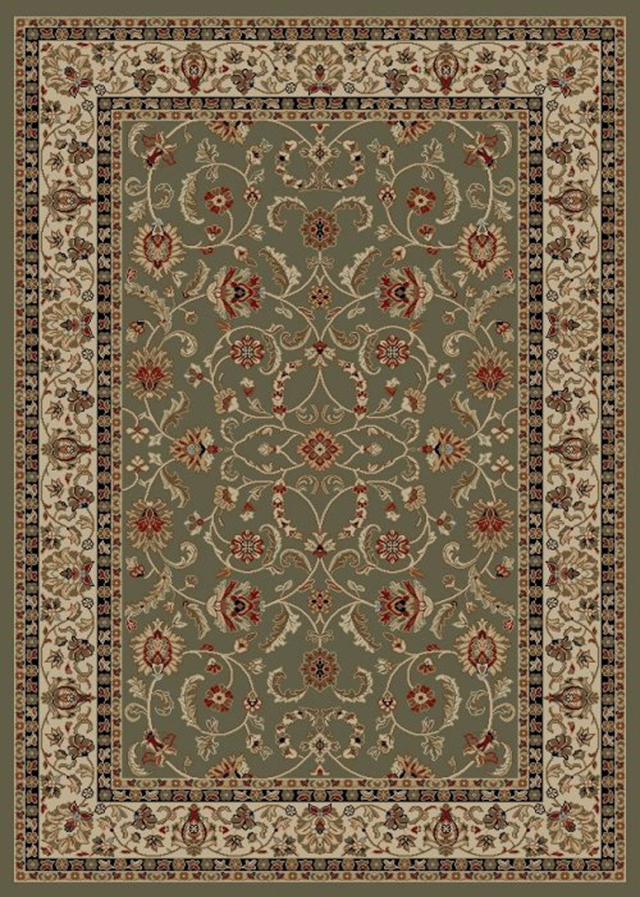 Dean Classic Keshan Sage Green Oriental Area Rug 7 10 Quot X 9