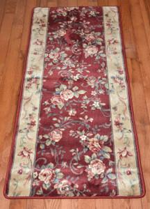 Chelsea Garden Red Carpet Rug Hallway Runner 5'
