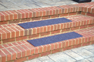 "Dean Indoor/Outdoor Non Skid Stair Treads - Blue 36"" x 9"" (3)"