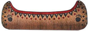 "Dean Etowah Canoe Bear Lodge Cabin Carpet Runner Rug Size: 2'10"" x 7'7"""