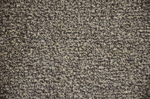 Dean Indoor/Outdoor Carpet Beige & Black Tweed Artificial Grass Turf Area Rug 6' x 8'