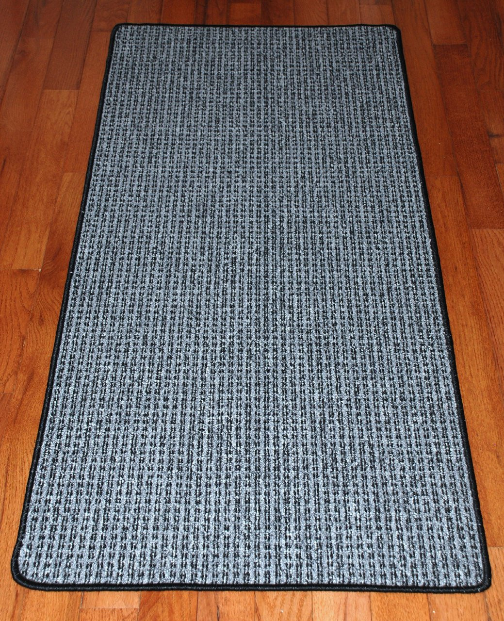 Washable Non Skid Carpet Rug Runner Silvered Sky 5