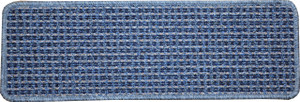 Washable Non-Skid Carpet Stair Treads - Michelle Blue (15)