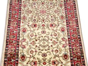 Dean Classic Keshan Antique Beige Custom Length Carpet Rug Runner - Purchase by the Linear Foot