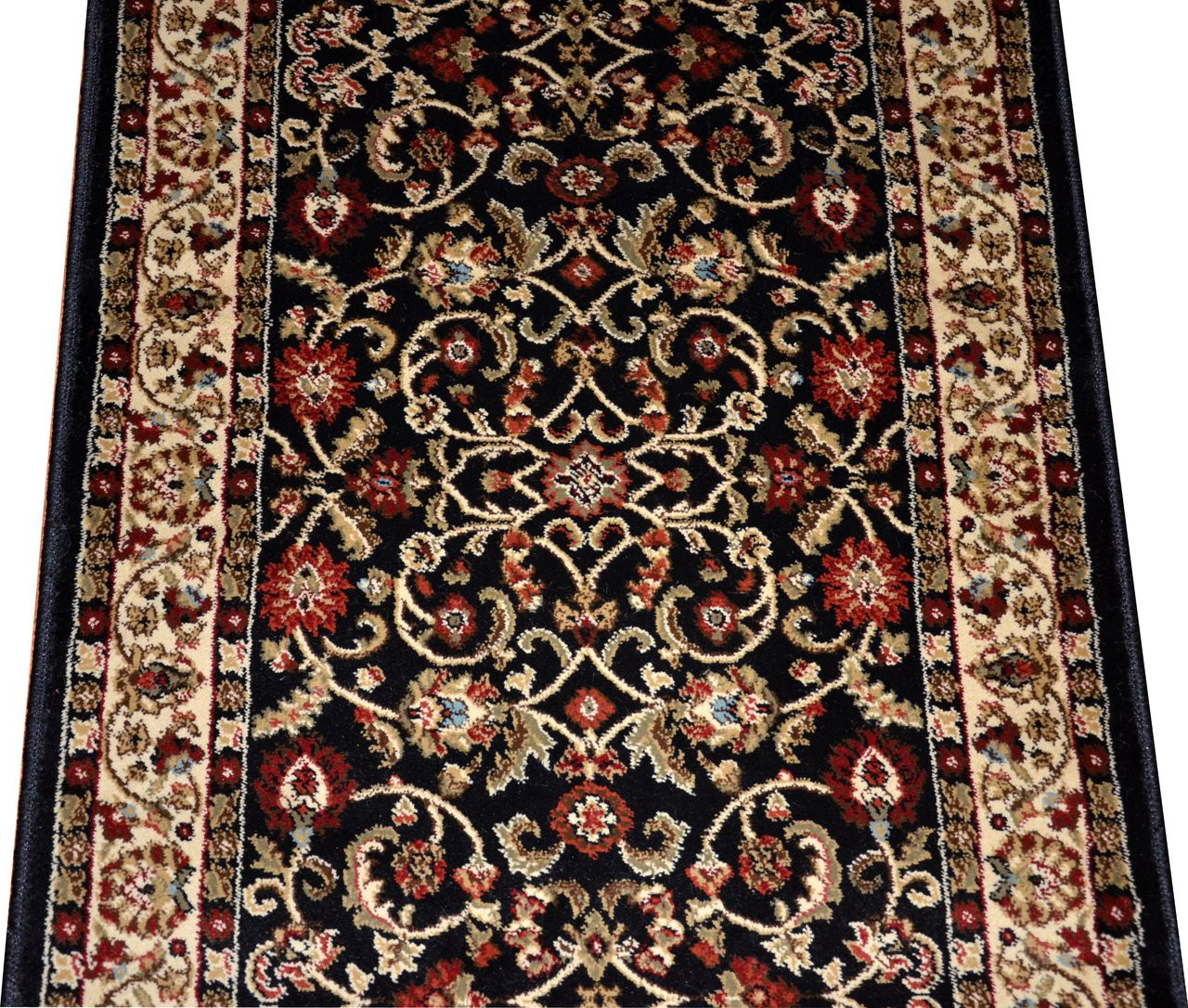 Dean Classic Keshan Ebony Custom Length Carpet Rug Runner