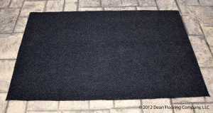 Dean Indoor/Outdoor Walk-Off Entrance Carpet Door Mat/Rug - Black - 4' x 6'