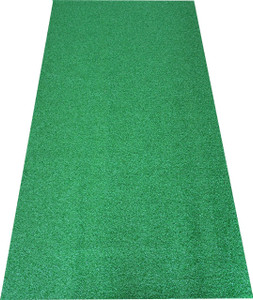 Dean Premium Heavy Duty Indoor/Outdoor Green Artificial Grass Turf Carpet Runner Rug/Putting Green/Dog Mat, Size: 3' x 6'