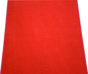 Dean Red Carpet Runner - Indoor/Outdoor Wedding Aisle Boat Event Party Rug 4' x 25'