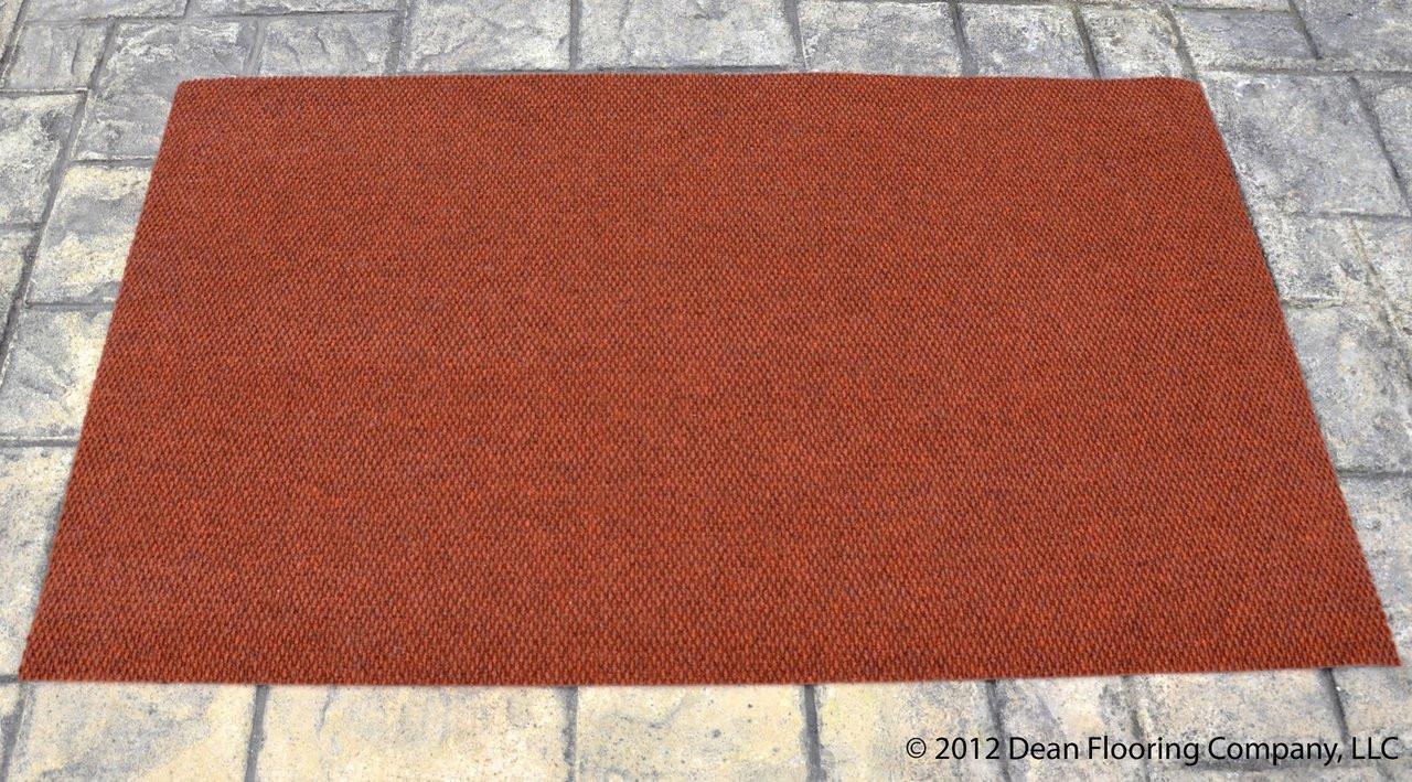 Dean 3 X 5 Indoor Outdoor Terra Cotta Carpet Door Mat