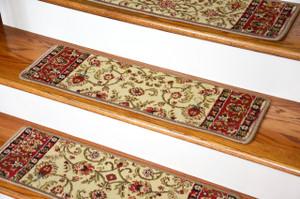 Classic Antique Carpet Stair Tread