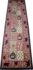 "Dean American Master's Lodge Cabin Bear Carpet Runner Rug Size: 2'3"" x 7'7"""