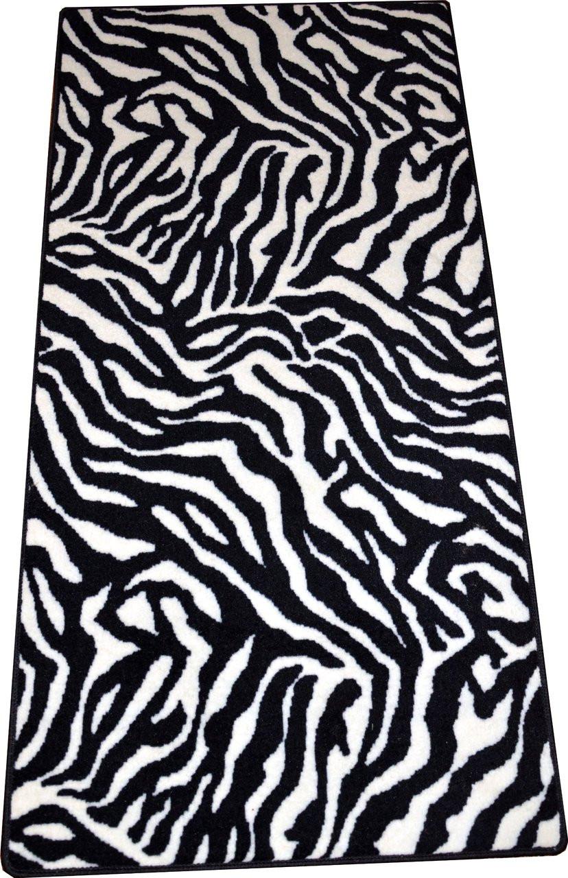 Zebra Carpet Rug Hallway Runner 30 Quot X 60 Quot Dean Stair