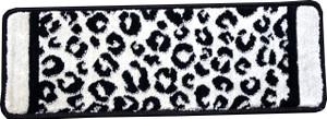 "Dean Kenya Onyx Snow Leopard Ultra Premium Stair Gripper Non-Slip Tape Free Pet Friendly DIY Nylon Carpet Stair Treads/Rugs 27"" x 9"" (15)"