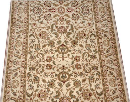 Dean Bergama Ivory Carpet Rug Hallway Stair Runner
