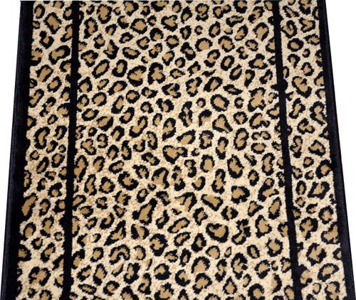Dean Cheetah Carpet Rug Hallway Stair Runner   Custom Lengths   Purchase By  The Linear Foot
