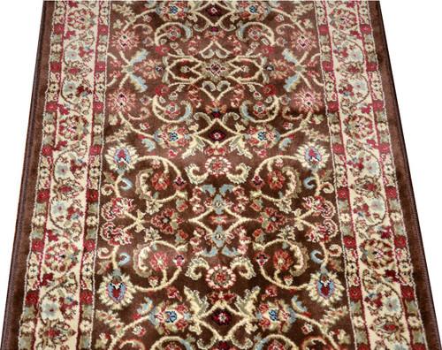 Dean Classic Keshan Chocolate Brown Custom Length Carpet