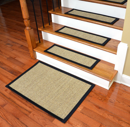 Dean Sisal Carpet Stair Treads And Mat Set Of 13