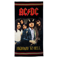 AC/DC Highway to Hell Jumbo Beach Towel