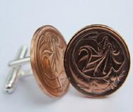 1981 birth year Australian-2-Cent-Coin-Cufflinks-Side-med-460x545