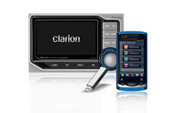 CLARION CMS5 MARINE DIGITAL MEDIA RECEIVER WITH 4.3-INCH COLOR LCD WATERTIGHT CONTROLLER