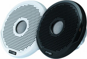 Fusion Electronics MS-FR6021 Marine 2-Way Full Range Speakers, 200W, Pair