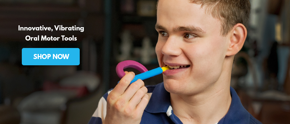 Ark therapeutic makers of innovative special needs for Oral motor therapy tools