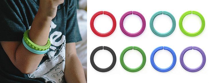 Autism Sensory Chews - Smooth Bracelets