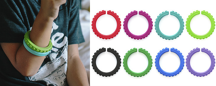 Autism Sensory Chews - Textured Bracelets