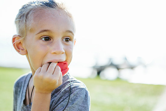 Does needing to chew mean my child has Autism or SPD?