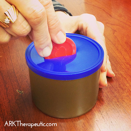 DIY Piggy Bank Fine Motor Activity