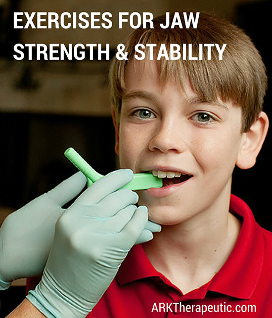 Improving Jaw Strength & Stability