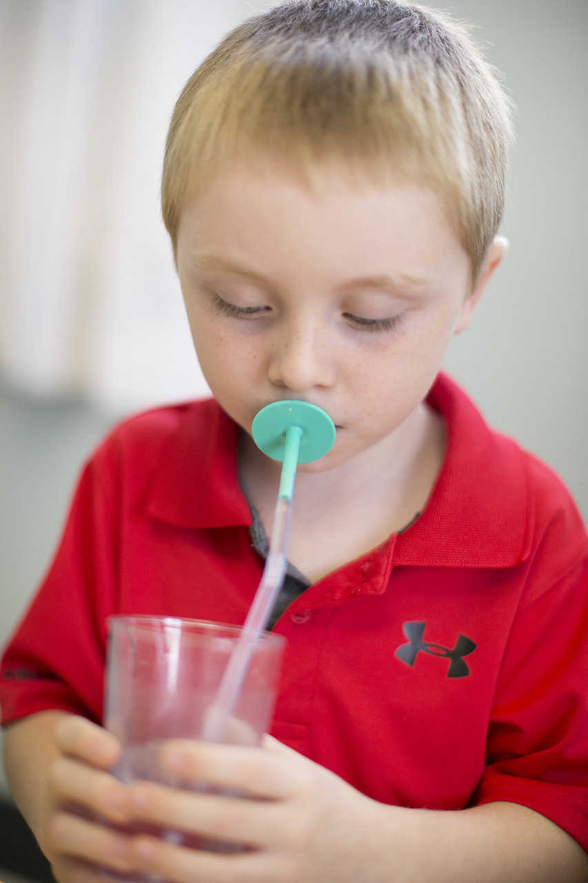 Use them to take the oral motor benefits of straws to the next level