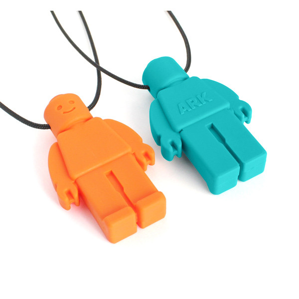 ARK's Chew Dude™ Chewable Figurine Necklace