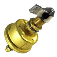 Cole Hersee Single Pole Brass Marine Battery Switch - 175 Amp - Continuous 1000 Amp Intermittent