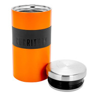 Camco Currituck Stainless Steel Food Container - 18oz - Orange