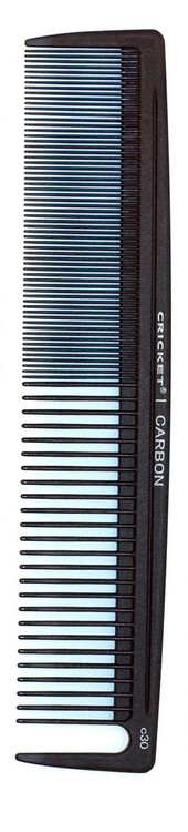 Minimum flex and sizing provides stronger direction even with large sub-sections. The comb necessary for moving, controlling and elevating heavy, thick and coarse hair.