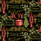 Florentine Christmas Swirls Green