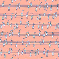 Musical Notes ( Horizontal)