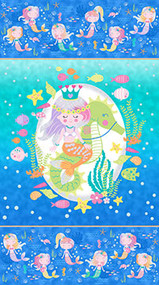 Mermaid Wishes Panel