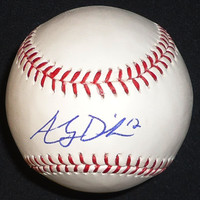 Andy Dirks Autographed Baseball - Official Major League Ball