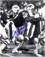 Joe DeLamielleure Autographed Buffalo Bills 8x10 Photo #1