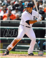 Alex Avila Autographed Detroit Tigers 8x10 Photo #5 - 2012 Home Batting