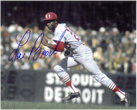 Lou Brock Autographed St. Louis Cardinals 8x10 Photo