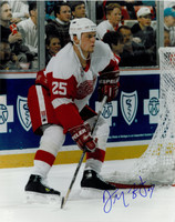 Darren McCarty Autographed 16x20 Photo #2 - 1998 Action