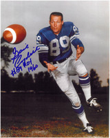 "Gail Cogdill Autographed Detroit Lions 8x10 Photo w/ ""ROY"""