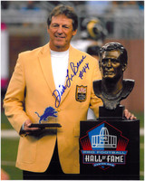 Dick Lebeau Autographed Detroit Lions 8x10 Photo #2