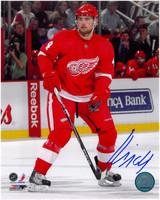 Jakub Kindl Autographed Detroit Red Wings 8x10 Photo #1