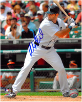 Alex Avila Autographed Detroit Tigers 8x10 Photo #1 - Rookie Home Batting